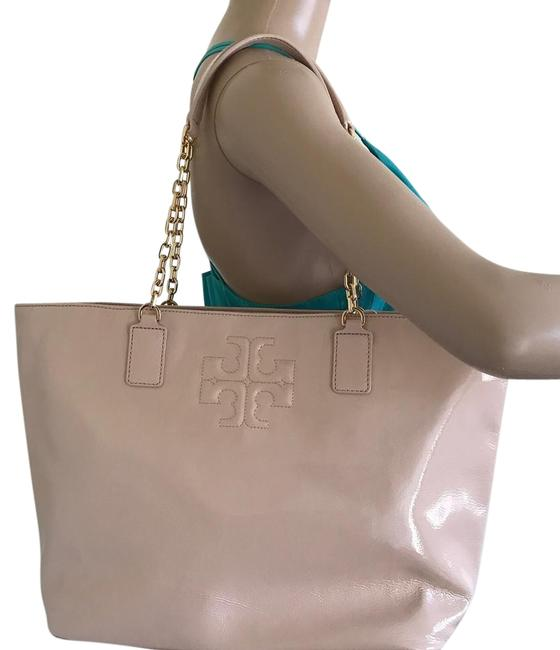 Item - Bag Charlie Pink Patent Leather Tote