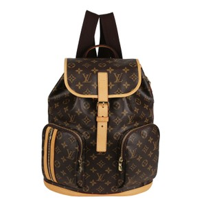 Louis Vuitton Canvas Bosphere Leather Monogram Backpack