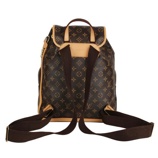 Louis Vuitton Canvas Bosphere Leather Monogram Backpack Image 2