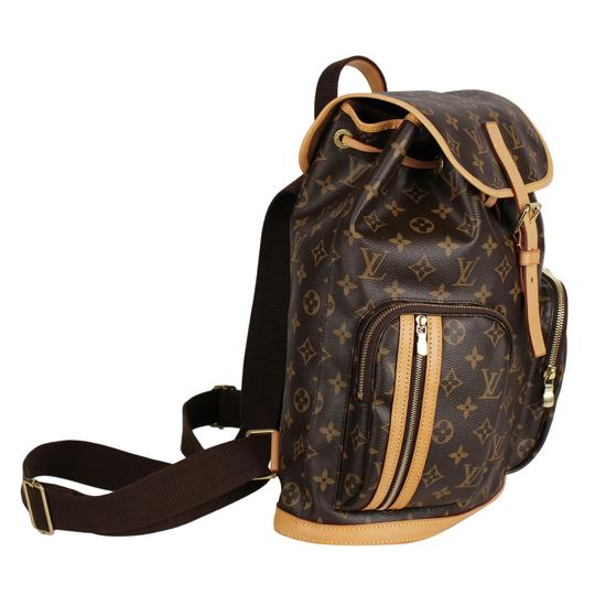 Louis Vuitton Canvas Bosphere Leather Monogram Backpack Image 3