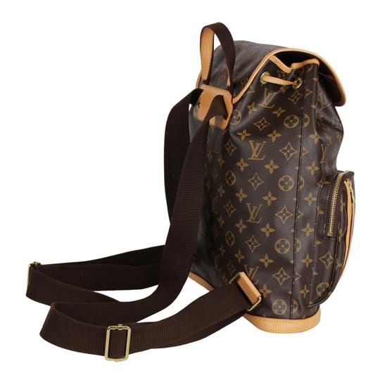 Louis Vuitton Canvas Bosphere Leather Monogram Backpack Image 6