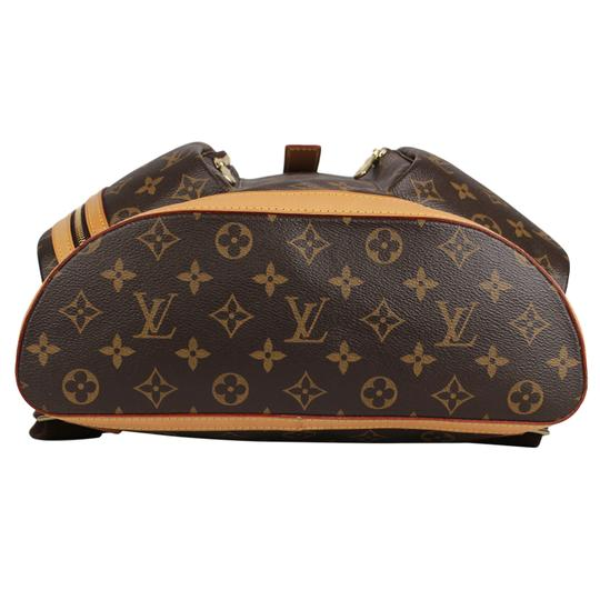Louis Vuitton Canvas Bosphere Leather Monogram Backpack Image 7