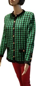 Chanel Green and black Jacket