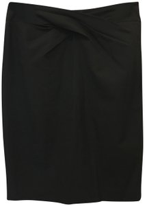 Michael Kors Pencil Criss Cross Gather Pencil Size 4 S Small New With Tags Skirt Black
