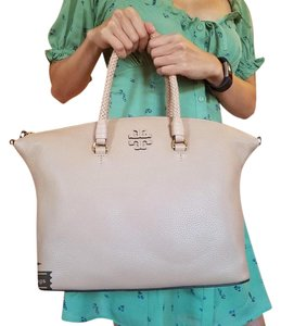 Tory Burch Satchel in Devon sand