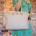 Tory Burch Satchel in Devon sand Image 1