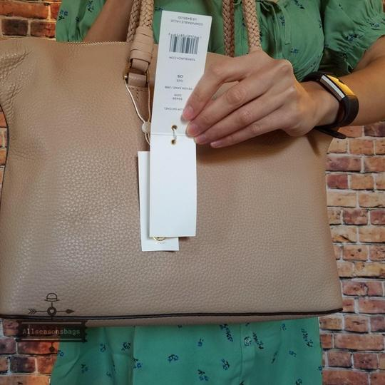 Tory Burch Satchel in Devon sand Image 4