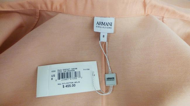 Armani Collezioni Silk Sleeveless Top Peach Image 4