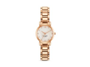 Kate Spade Kate spade small GOLD gramercy watch w/ crystals 24mm