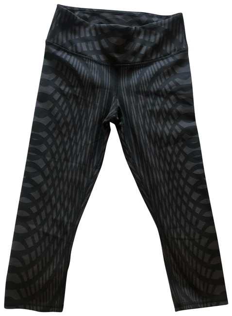 Item - Black and Grey Activewear Bottoms Size 2 (XS)