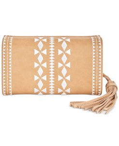 INC International Concepts Tan Clutch