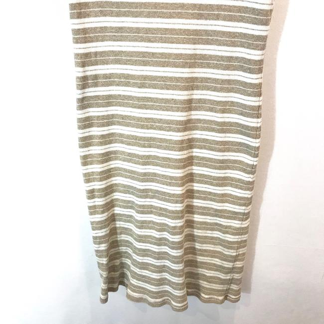 Sisley short dress Tan & White Stripe on Tradesy Image 2