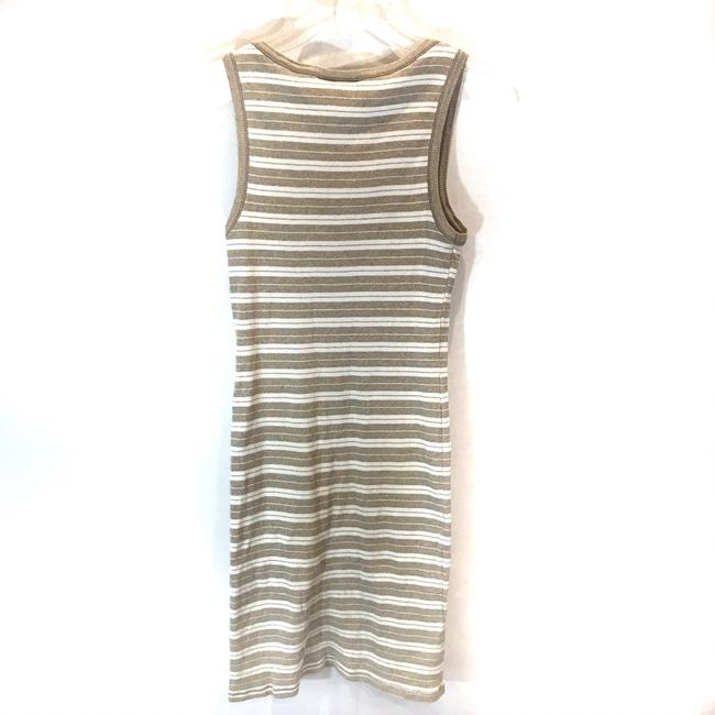 Sisley short dress Tan & White Stripe on Tradesy Image 3