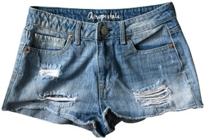Aéropostale Jeans Ripped Mini/Short Shorts Light-wash denim