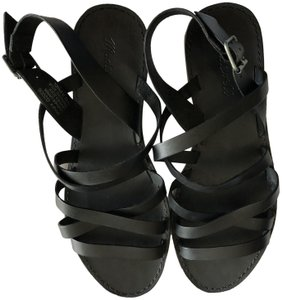 Madewell 9 Leather Black Sandals