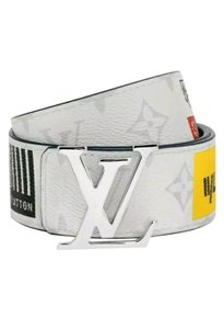 Louis Vuitton Louis Vuitton Monogram Reversible Belt w LV signature logos