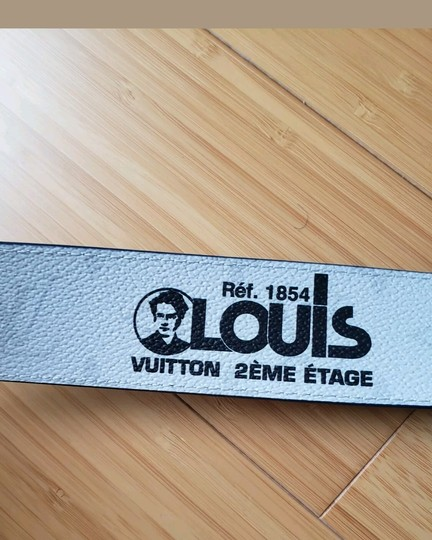 Louis Vuitton Louis Vuitton Monogram Reversible Belt w LV signature logos Image 8