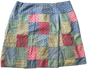 a2451c9ce Vineyard Vines Patterned Short Mini Mini Skirt Pastels: blue, green, red,  pink