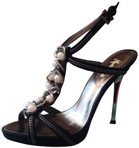 Marciano Black Sandals