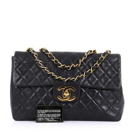 Chanel Leather Shoulder Bag Image 1