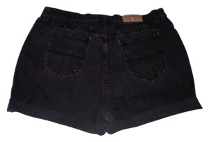 Denim Riders Cut Off Shorts Black