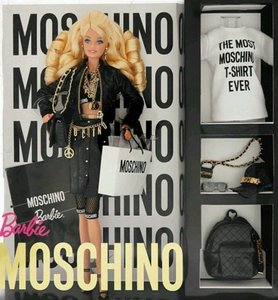 Moschino Moschino Jeremy Scott Barbie AA Brunette