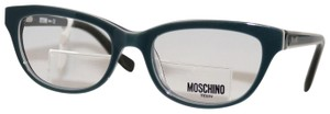 Moschino New Moschino Blue Mint Eyeglasses Rx Glasses Made in Italy MO235V04