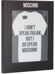 Moschino I Do Speak Moschino iPhone Case 5/S/C