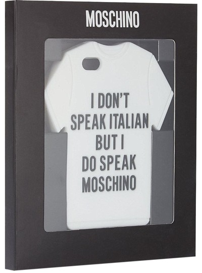 Moschino I Do Speak Moschino iPhone Case 5/S/C Image 0