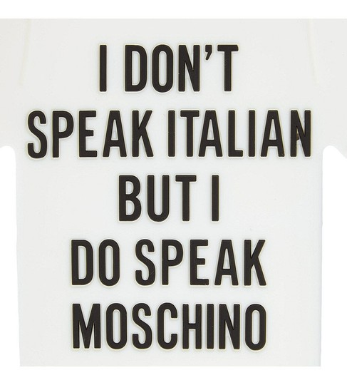 Moschino I Do Speak Moschino iPhone Case 5/S/C Image 3