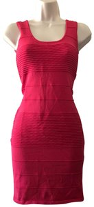 Wow Couture short dress pink on Tradesy