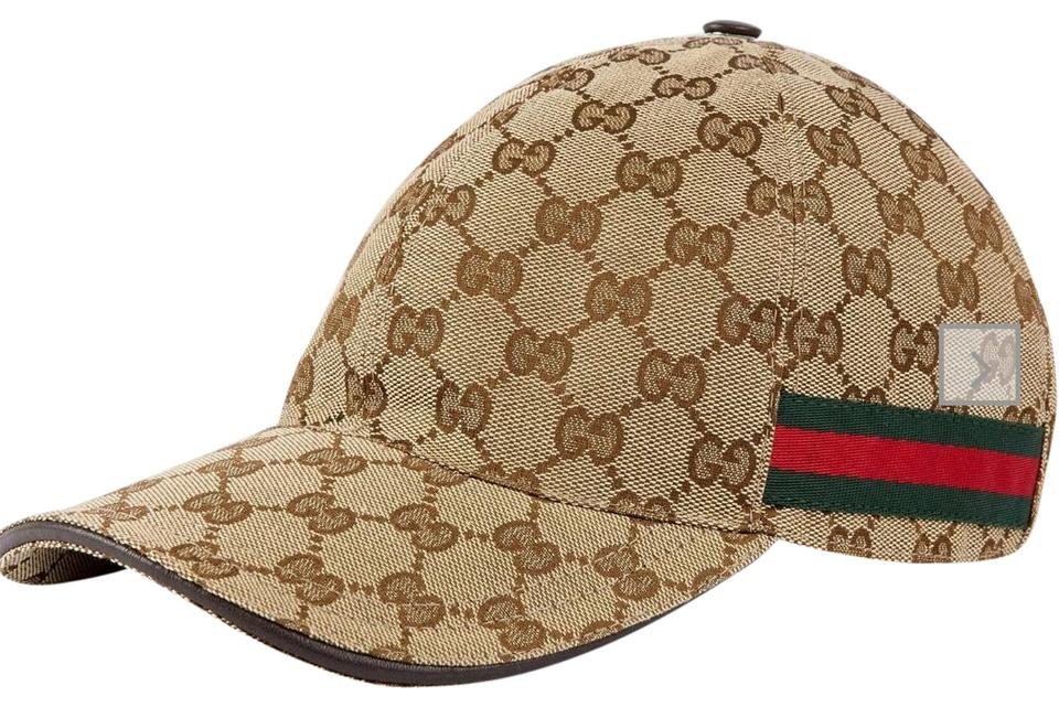 98be2666 Gucci Original GG canvas baseball hat with Web Style 200035 KQWBG 9791  Image 0 ...