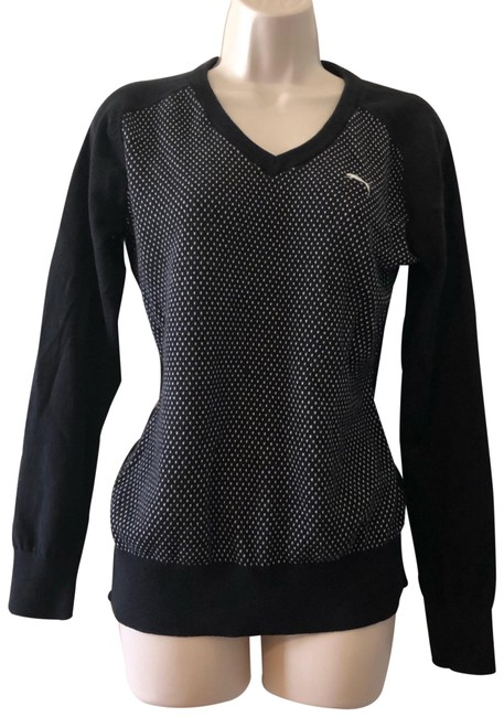 Item - Black Sweater Activewear Top Size 4 (S)