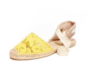 Soludos Yellow Sandals