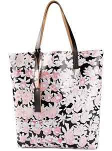 Marni Tote in Pink, Black and White Floral