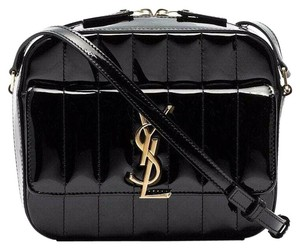Saint Laurent Shoulder Small Monogram Crystal Kate Cross Body Bag