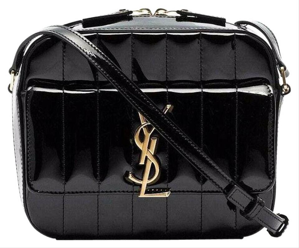 54f8c6df9 Saint Laurent Shoulder Small Monogram Crystal Kate Cross Body Bag Image 0  ...