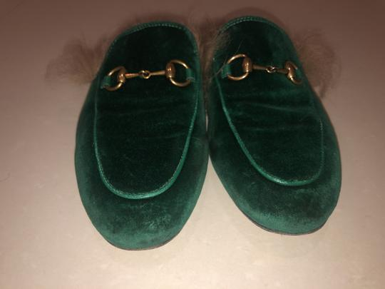 Gucci Slippers Loafers Forest green Mules Image 1