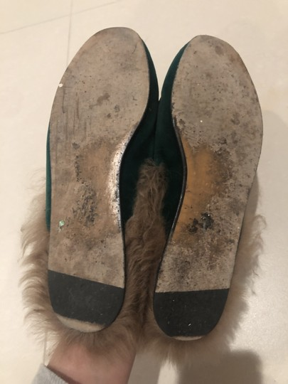 Gucci Slippers Loafers Forest green Mules Image 4