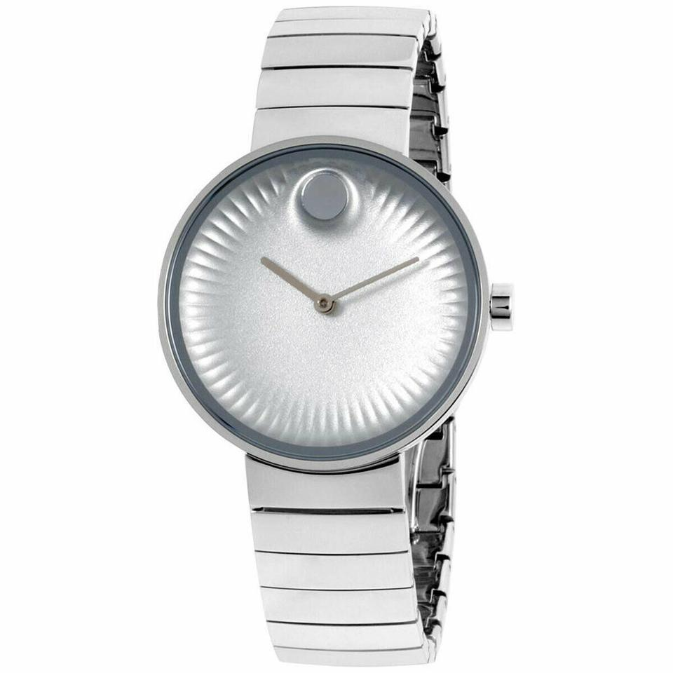 9eed1bd0e Movado Movado Women's Edge Silver Dial Stainless Steel Watch 3680012 Image  0 ...