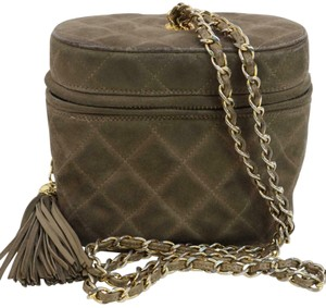Chanel Vanity Case Classic Quilted Chain Shoulder Bag