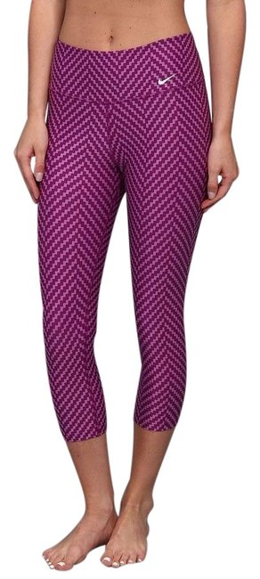 Item - Purple Legend Zigzag Capris Activewear Bottoms Size 2 (XS)