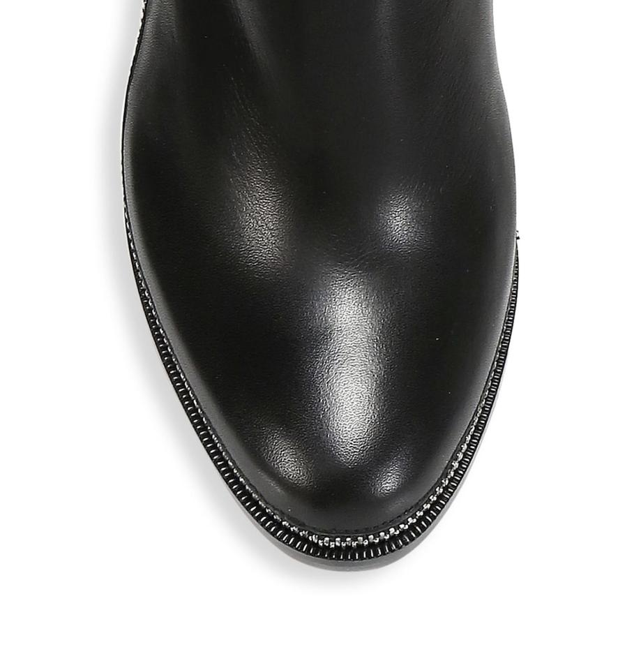 newest fbed2 8ee58 Christian Louboutin Black Telezip 85 Leather 6 Boots/Booties Size EU 36  (Approx. US 6) Regular (M, B)