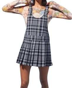 Anna Sui short dress Plaid Urban Outfitters Overall on Tradesy