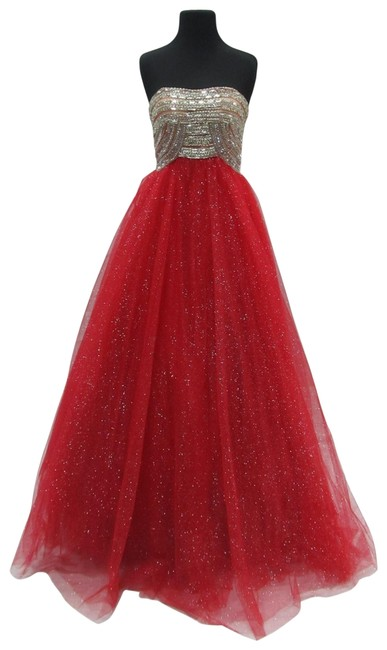Item - Red 6170/ Long Formal Dress Size 6 (S)
