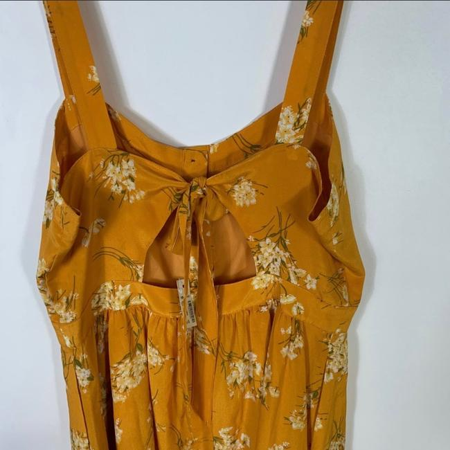 Madewell short dress yellow Silk Floral Butterfly on Tradesy Image 4
