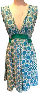 Marc Jacobs short dress Turquoise Green and Creme on Tradesy