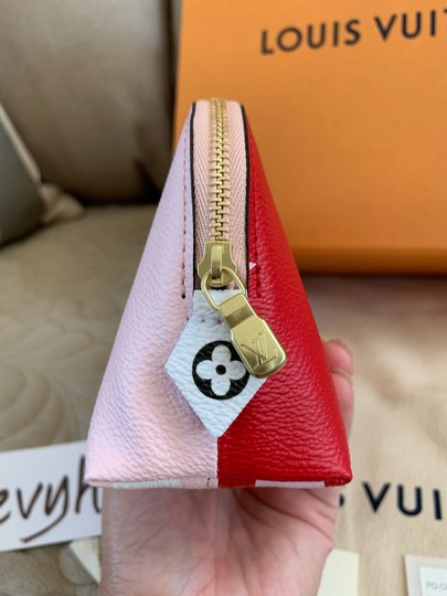 Louis Vuitton Cosmetic Pouch PM Rose Rouge Image 7