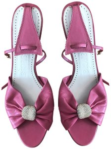 Pedro Garcia Leather Made In Spain pink Sandals