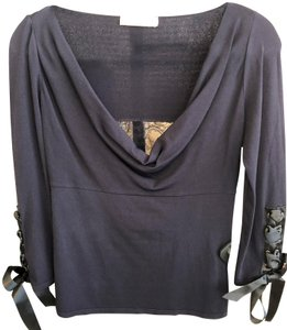 Valentino Sleeveless Italy Lace Ribbon Sweater